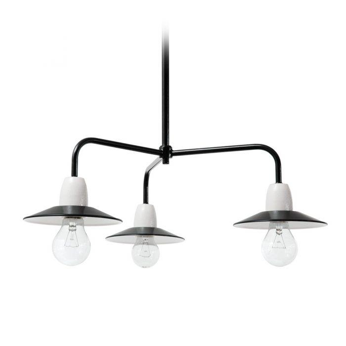 Ebolicht Bonn III industriele hanglamp - Verlichting van Toen