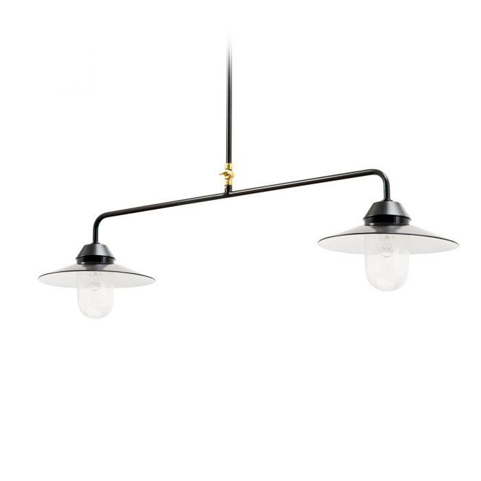 Ebolicht Bremen Zylinder II hanglamp - Verlichting van Toen