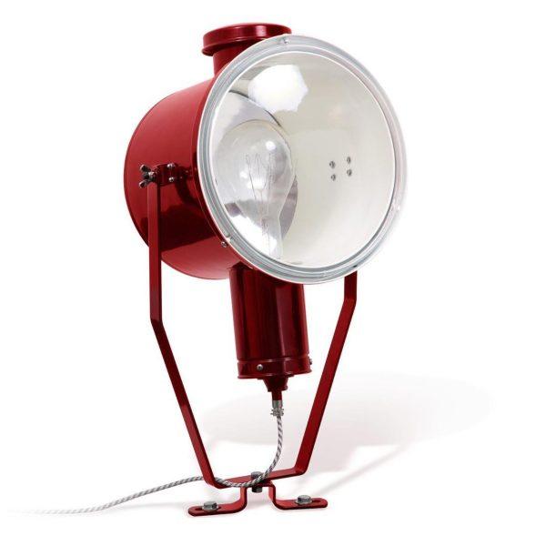 Sfeerbeeld Leipzig industriele spotlight fabriekslamp - Verlichting van Toen