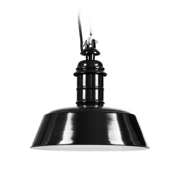 Ebolicht Bissingen industriële hanglamp - Verlichting van Toen