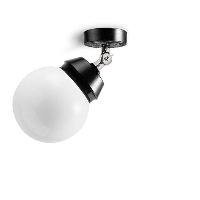 Bremerhaven Kugel met scharnier plafondlamp - Verlichting van Toen