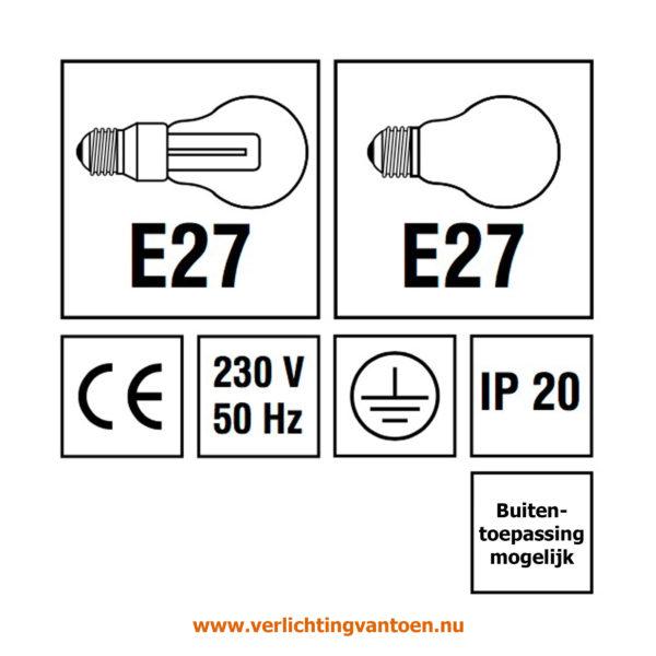 Verlichting van Toen - verlichtingsuitleg IP 20 en buitentoepassing