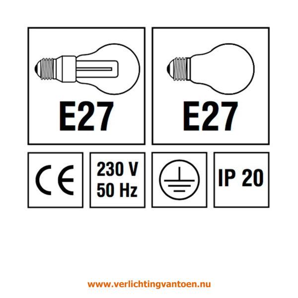 Verlichting van Toen - verlichtingsuitleg met IP 20