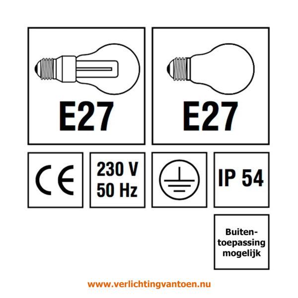 Verlichting van Toen - verlichtingsuitleg met IP 54