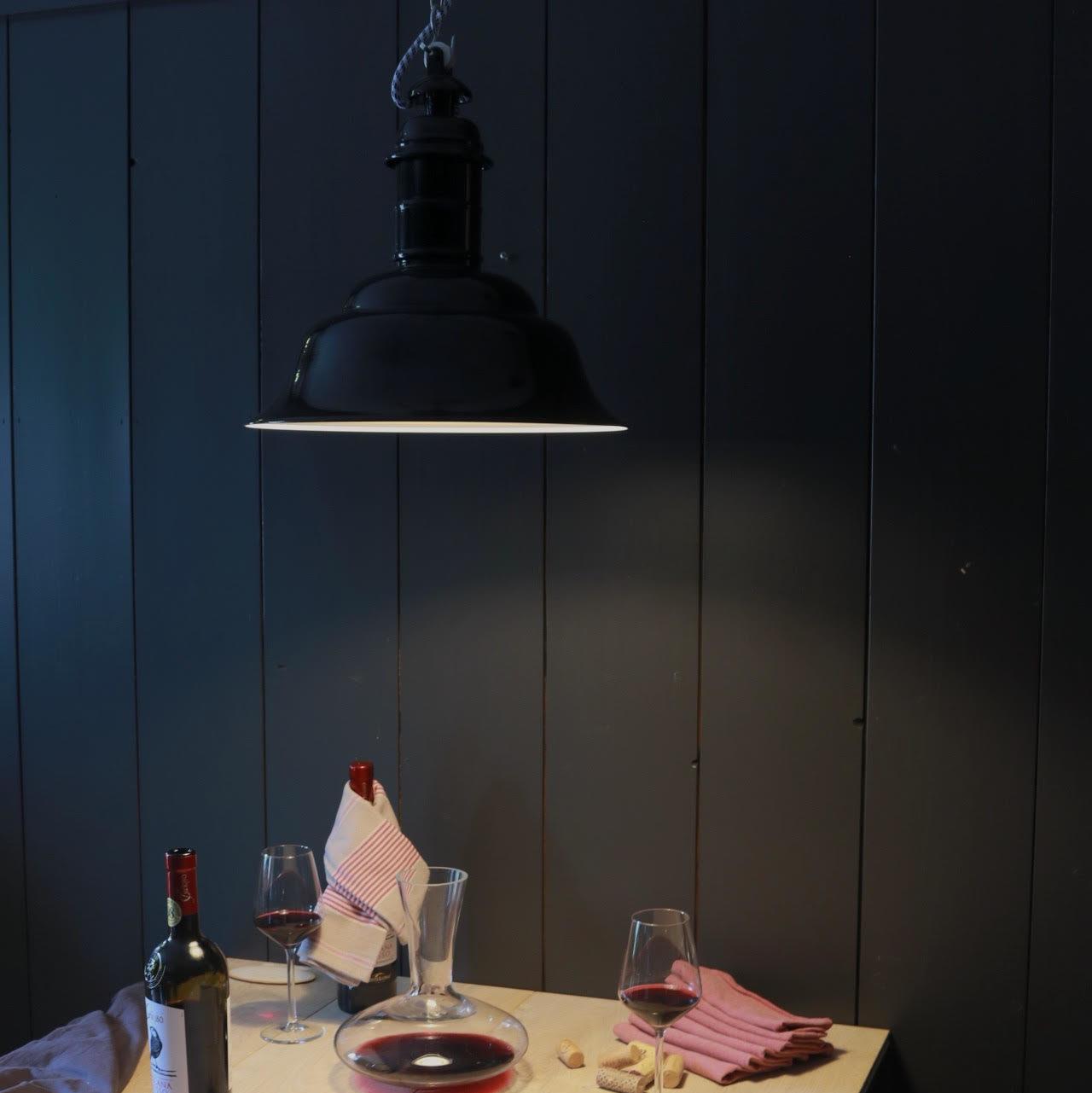 Ebolicht Dortmund Hanglamp Industrieel