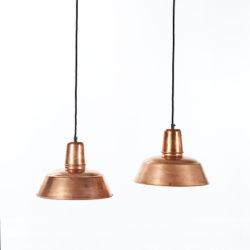 Hanglampen eettafel: Berlin Koper hanglampen boven de eettafel - Verlichting van Toen