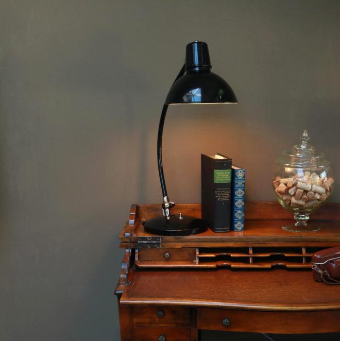 Industriele bureaulamp omslag Frankfurt - Verlichting van Toen