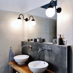 Zwarte wandlampen Bremerhaven Kugel - Verlichting van Toen
