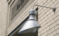 Hamburg wandlamp grijs industrieel - Verlichting van Toen
