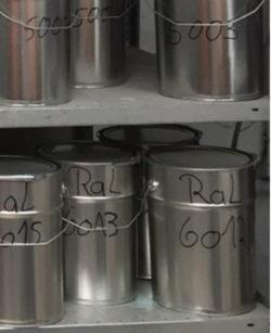 RAL-kleur Bolichwerke - Verlichting van Toen