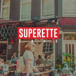 Superette cafe Amsterdam - Verlichting van Toen